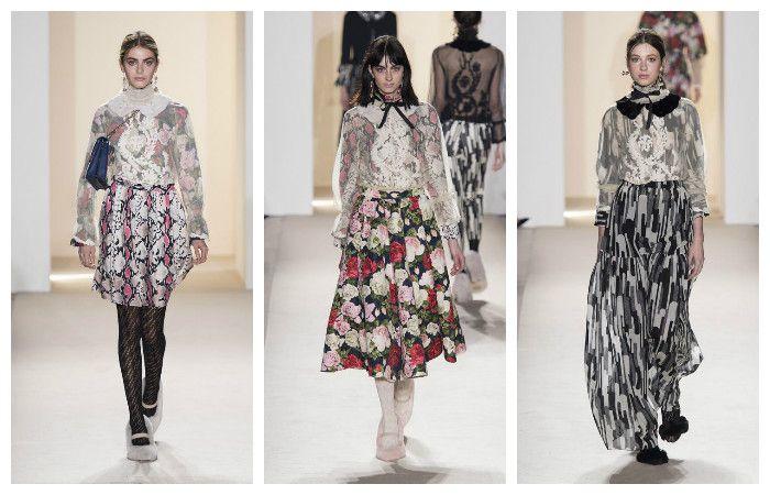 Модные тенденции осень - зима 2016 - 2017, фото из коллекции Blugirl
