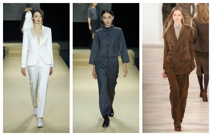 Модные тенденции осень - зима 2016 - 2017, фото из коллекций Agnes, Ralph Lauren