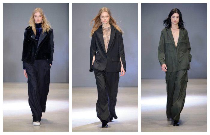 Модные тенденции осень - зима 2016 - 2017, фото из коллекции Tibi