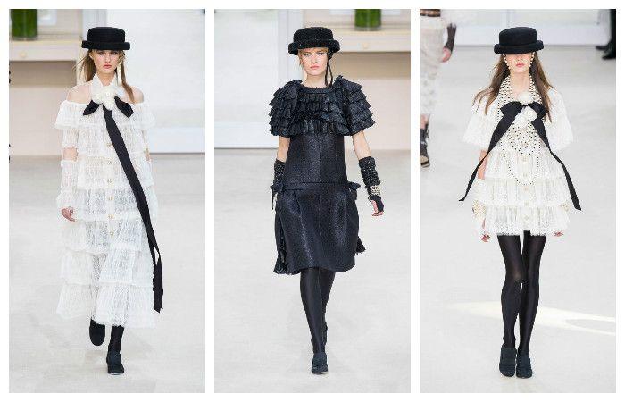Модные тенденции осень - зима 2016 - 2017, фото из коллекции Chanel