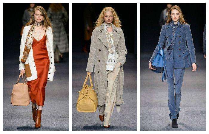 Модные тенденции осень - зима 2016 - 2017, фото из коллекции Trussardi