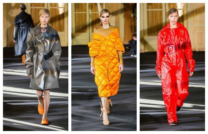 Модные тенденции осень - зима 2016 - 2017, фото из коллекции Acne
