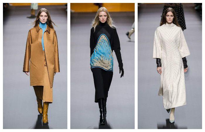 Модные тенденции осень - зима 2016 - 2017, фото из коллекции Hermes