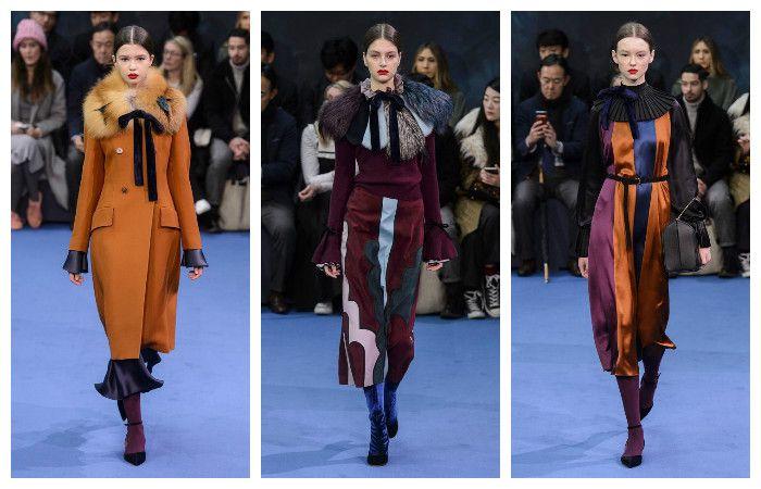 Модные тенденции осень - зима 2016 - 2017, фото из коллекции Roksanda Ilincic