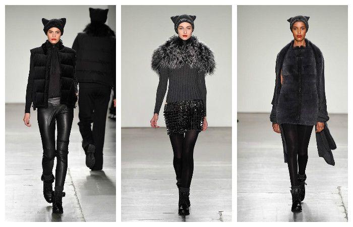 Модные тенденции осень - зима 2016 - 2017, фото из коллекции Zang Toi