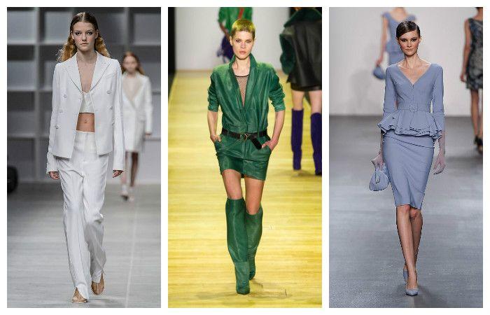 Модные тенденции осень - зима 2016 - 2017, фото