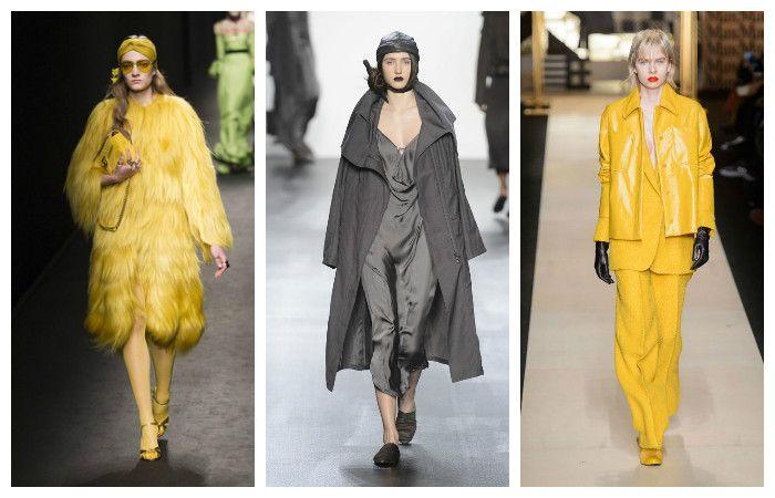 Модные тенденции осень - зима 2016 - 2017, фото из коллекций Nicholas K, Gucci, Max Mara