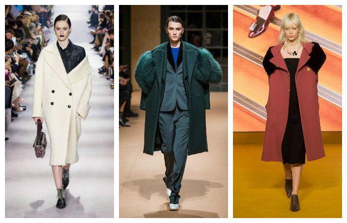 Модные тенденции осень - зима 2016 - 2017, фото из коллекций Christian Dior, Esteban Cortazar, Paul Smith