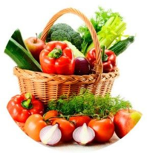 Кефирно-овощная диета, меню