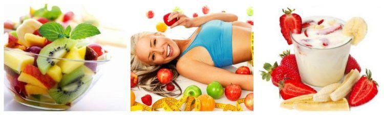 Фруктово-кефирная диета: меню на 3 дня, 5 дней и 7 дней
