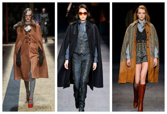 Мода осень зима 2016 - 2017: трапециевидные силуэты, фото