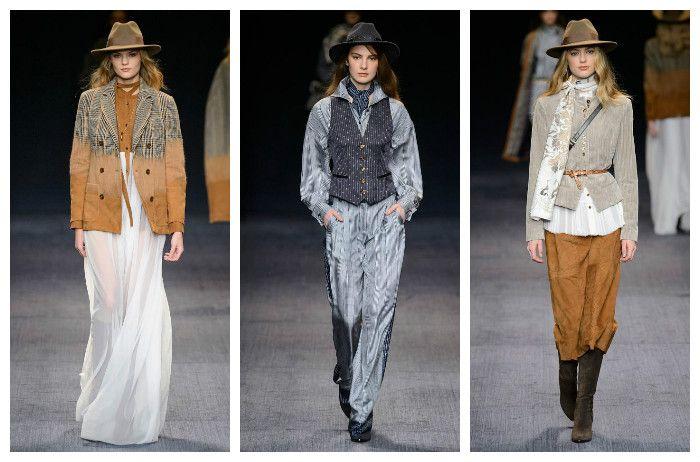 Мода осень зима 2016 - 2017: Trussardi, фото