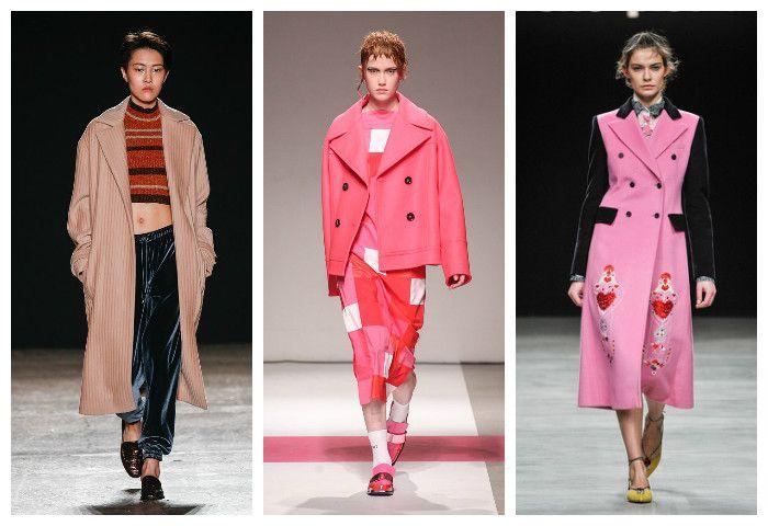 Мода осень зима 2016 - 2017: модные пальто, фото