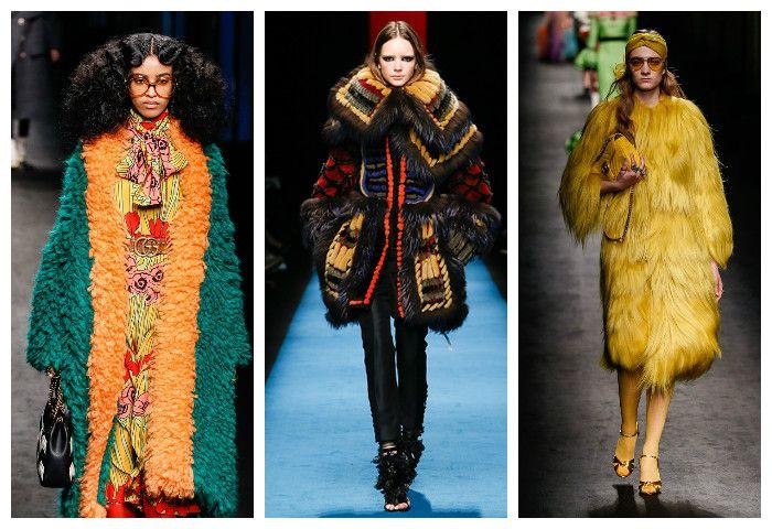 Мода осень зима 2016 - 2017: модные шубы, фото