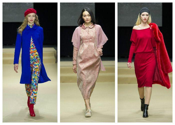 Модные цвета осень - зима 2016 - 2017, фото, коллекция Agnes