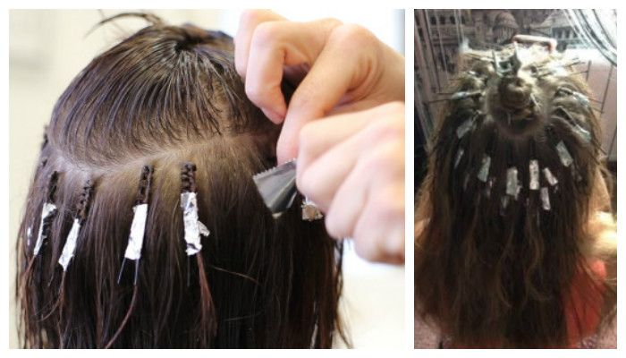 Прикорневой объем волос, фото технологии Boost UP (БустАп)