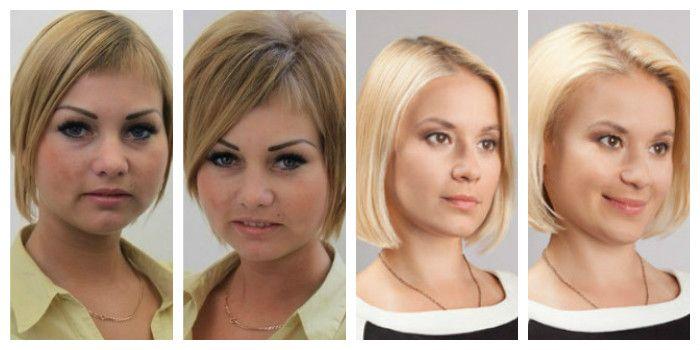 Прикорневой объем волос на короткие волосы фото до и после