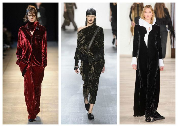 Модные тренды осень - зима 2016 - 2017. Фото из коллекций Costume National, Nicholas K и Ralph Lauren.