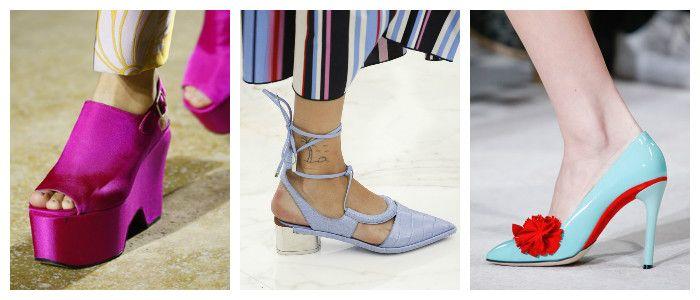 Выбираем модную летнюю обувь, фото