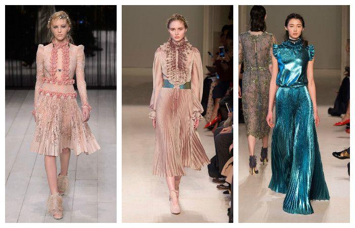 Модные платья осень — зима 2017 — 2017