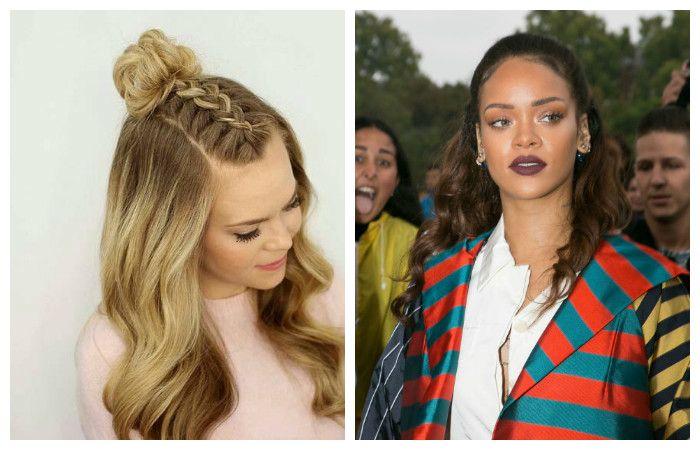 """Прическа """"Мальвина"""" на средние волосы, фото"""