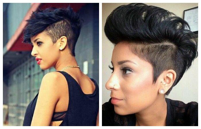 """Прически """"ирокез"""" на короткие волосы, фото"""