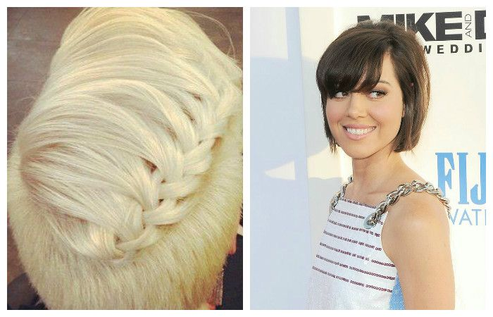 Прически на короткие волосы. Фото для вдохновения