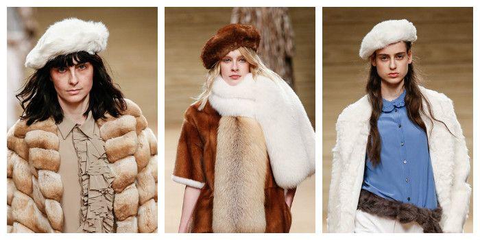 Модные береты осень - зима 2016 - 2017, фото