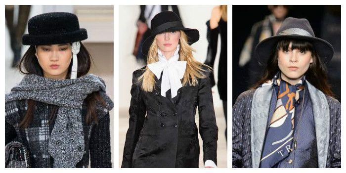 Модные шляпы осень - зима 2016 - 2017, фото