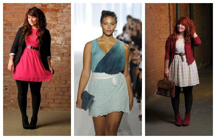 Выбираем коктейльное платье размера plus size, фото