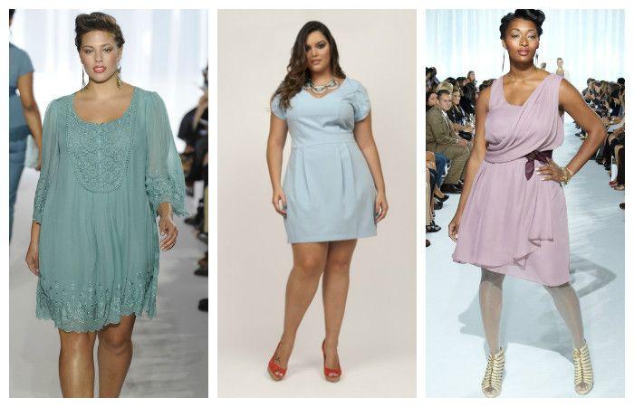 Платья нежных пастельных оттенков больших размеров, фото