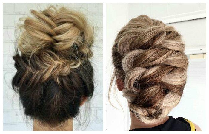 Варианты прически с косой для длинных волос, фото