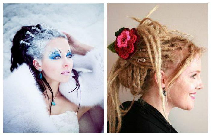 Креативные прически в этно стиле на длинные волосы, фото