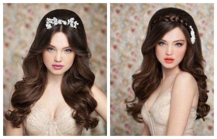 Прическа в стиле Барби на длинные волосы, фото