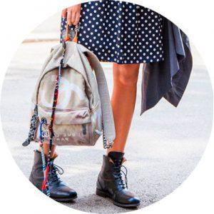 Рюкзак для города: с чем носить? Фото