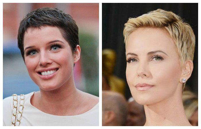 """Garson"" for very short hair"