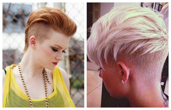 Стрижки пикси на короткие волосы с выстригом, фото