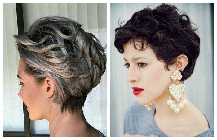 Стрижки на кудрявые волосы 2017 женские