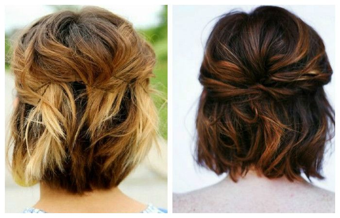 Hairstyles for short hair, photo