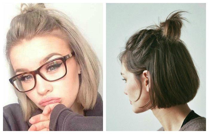 Укладка стрижки на короткие волосы в модную прическу