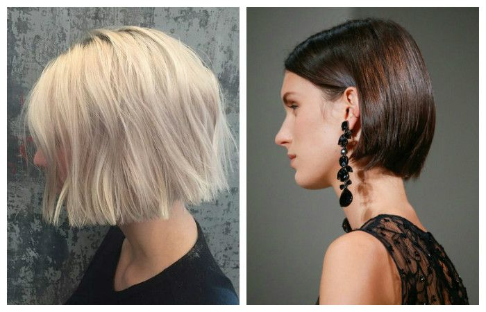 Options for cutting a curl on short hair