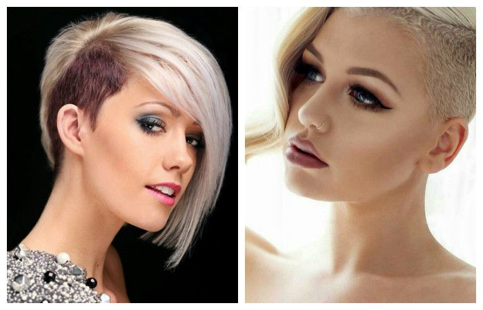 Trendy haircuts with short hair, photos with examples