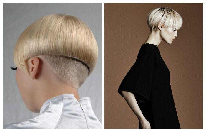 Модные стрижки на короткие волосы 2017