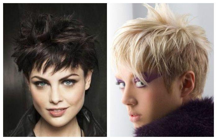 Ripped haircuts for short hair