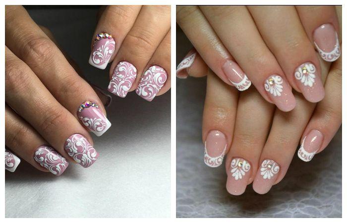 Дизайн для френча ногтей