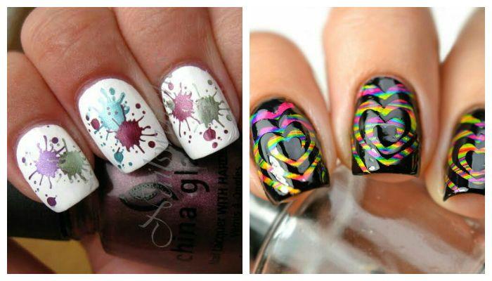 Яркий дизайн ногтей гель лаком, фото