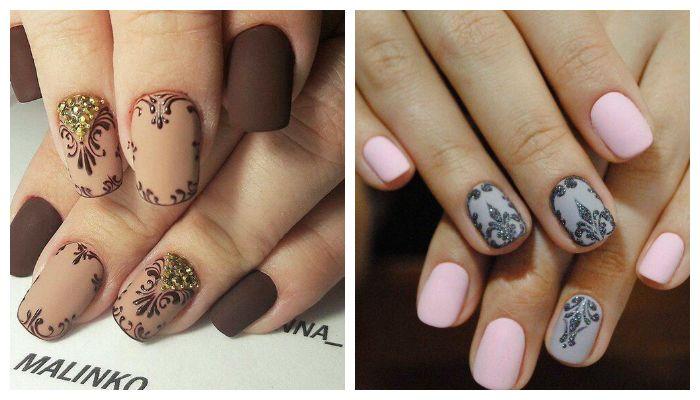 Дизайн на ногтях гель