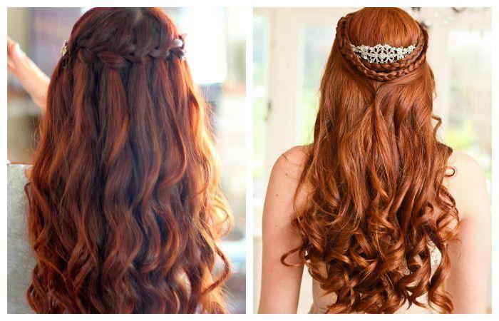 Красивые и легкие прически на длинные волосы, фото