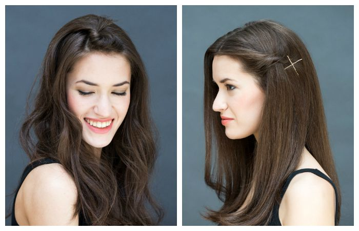Легкие прически на средние волосы со жгутами, фото