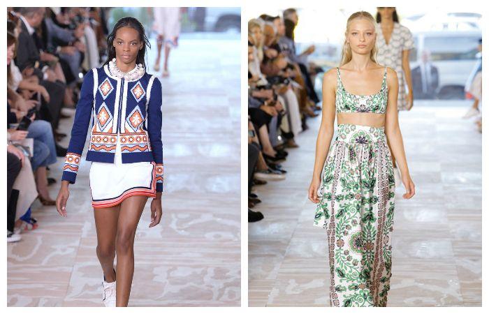 Тенденции весна - лето 2017: модные принты